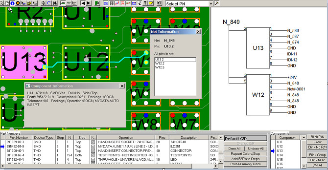 viewer for bom pcb gerber r274x and r274d and cad gencad odb cadence valid allegro protel